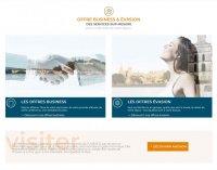 Page accueil site web Avignon Destination Hôtels