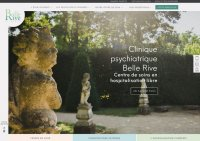 Site web Clinique Belle Rive