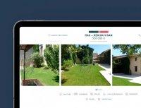 Boschi Immobilier - Site web