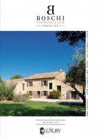 Couverture magazine - Boschi Immobilier Prestige
