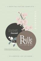 Clinique Belle Rive - Livret patient
