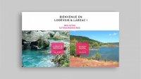 Office du tourisme Lodévois et Larzac - site web